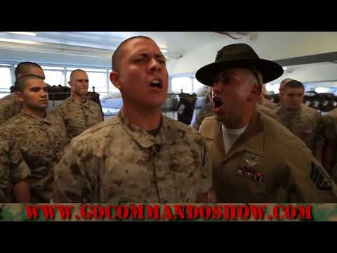 Episode 41 Marine Drill Instructors transforming individuals into an elite organization