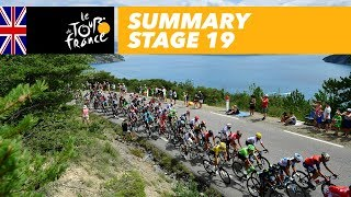 Summary - Stage 19 - Tour de France 2017 thumbnail