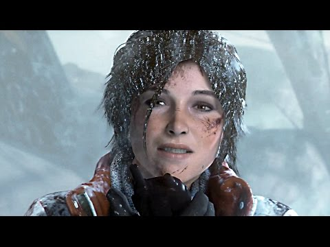 Rise of the Tomb Raider 2015 Gameplay Bear Fight Full Extended Demo