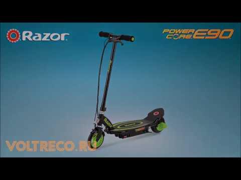 Электросамокат Razor Power Core E90 Обзор Voltreco.ru