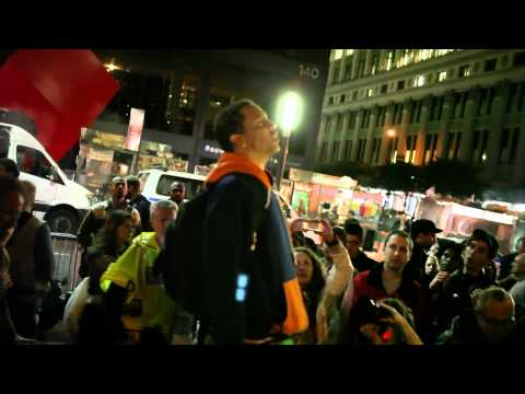 The Best Occupy Wall Street Footage You'll See. (10.14.11)