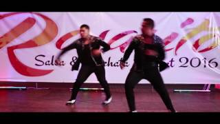 Brandon and Benny Ayala 2016 in Rosarito Salsa and Bachata Retreat
