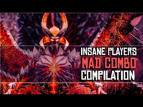 Dante Mad Combos By Insane Players Compilation - Devil May Cry 5