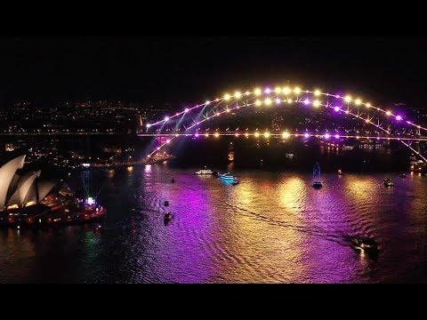 Sydney VIVID Boat Party Cruise 2019