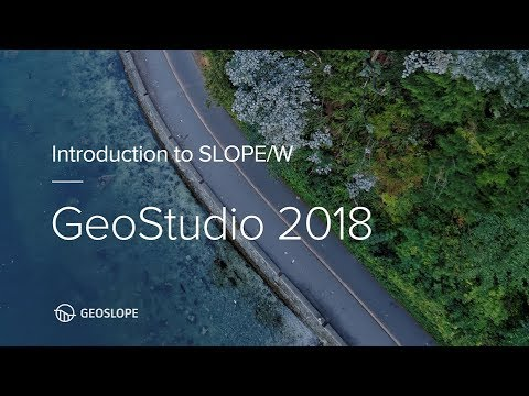 Phần mềm GeoStudio 2018