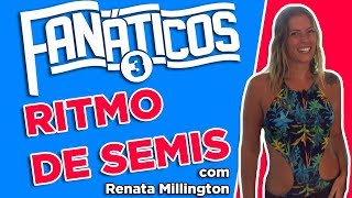 Renata Millington participa do almoço e bate bola com os #Fanáticos - #Fanáticos3