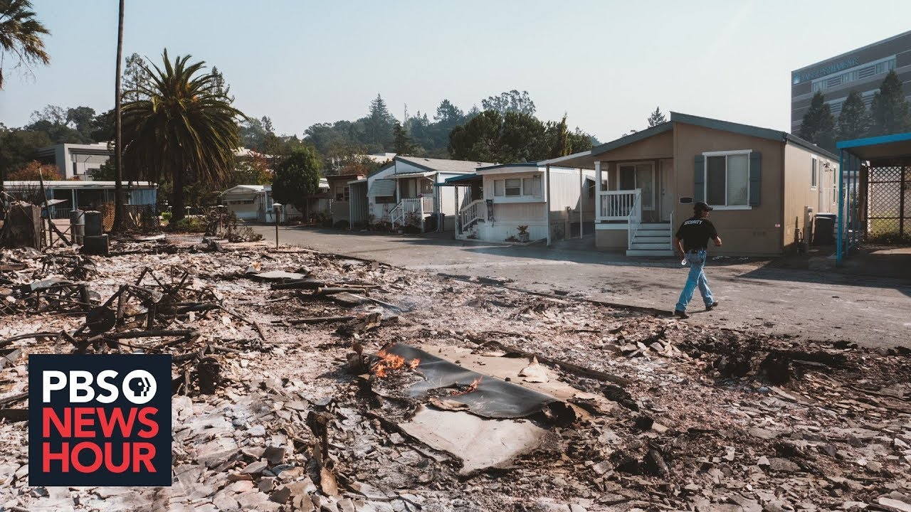 Why these California wildfire victims wish their houses had burned down