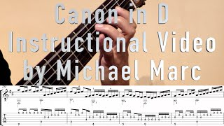 Canon In D Best Guitar Tutorial Lesson Instructions 4K Video