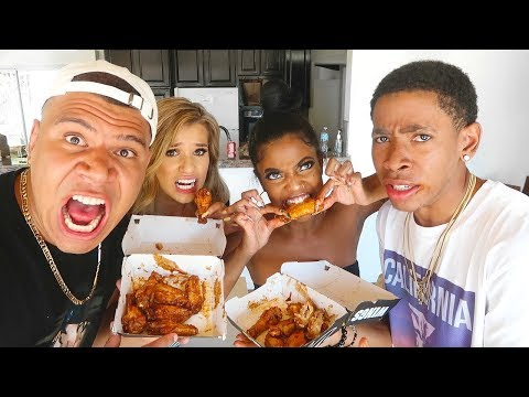 Download Youtube: SCORPION RUM WINGS CHALLENGE!! FT. WOLFIERAPS & SYLVIA GANI