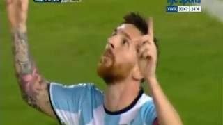 هدف ميسي ضد شيلي الـ58 في مسيرته مع الأرجنتين تصفيات امريكا الجنوبية