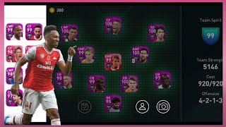 Let's See My Best Team !! Hight Team Strength !! Pes 2020 Mobile