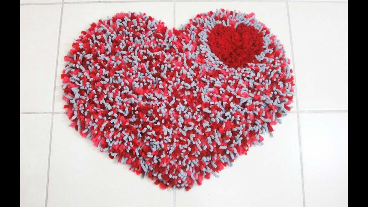 Diy tapete de corazon san valentin youtube - Corazones de san valentin ...