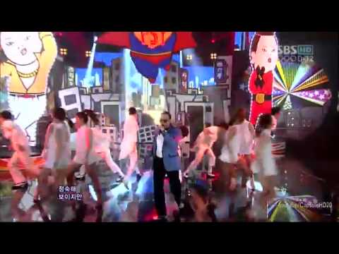 Gangnam style (Comeback stage) - Inkigayo