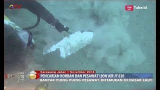 Terjun ke Dasar Laut, Reporter iNews Temukan Puing-puing Pesawat - BIP 02/11