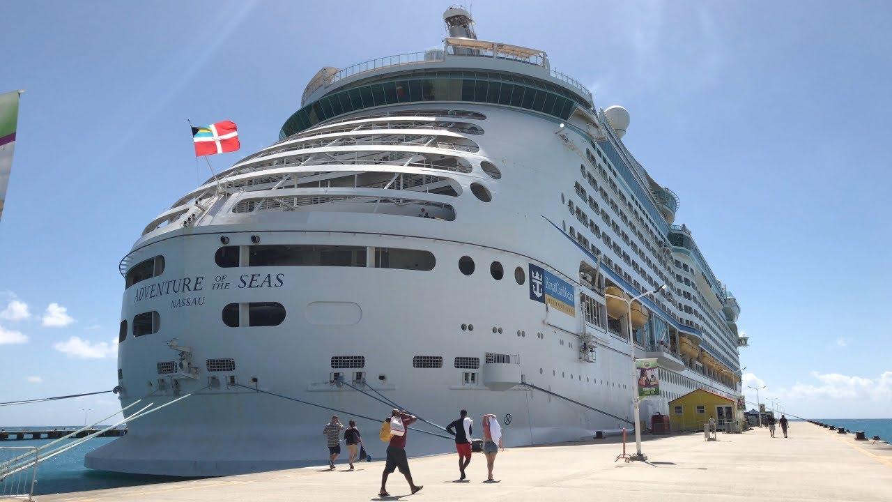 TOUR of Royal Caribbean's Cruise Ship ADVENTURE of the Seas FEB 2018 HD