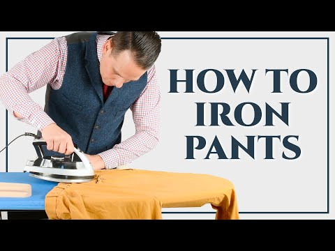 How To Iron Dress Pants, Trousers, Slacks, Chinos - Ironing Series Part III - Gentleman's Gazette