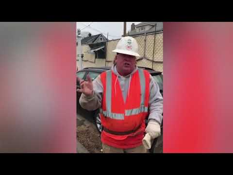 New York construction worker's Donald Trump impersonation