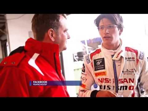 Ricardo Sánchez, piloto de la Nissan GT Academy