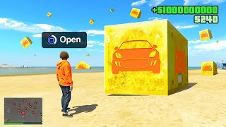 Opening SUPERCAR LUCKY BLOCKS in GTA 5!