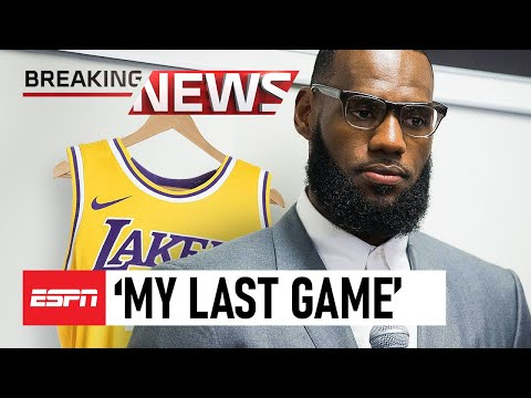 LeBron James Call's It QUITS.. This Will Be His LAST Game!