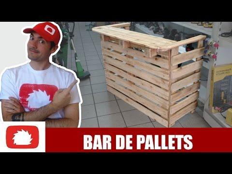 Download Como fazer Bar de pallets #DIY   Na oficina S02E47