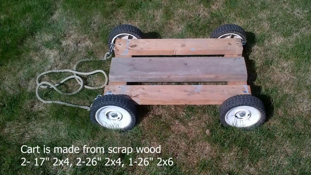 handywork garden diy storage rolling cart