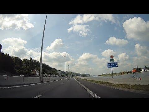 A2 + E25: Maastricht - Liège (Netherlands & Belgium)