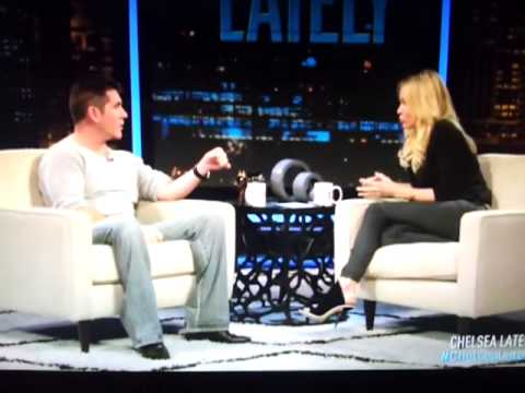 Simon Cowell on Chelsea Lately