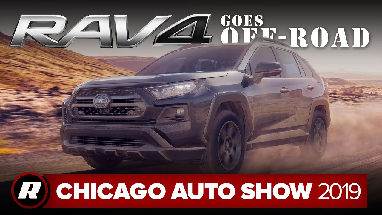 2020 Toyota RAV4 TRD Off-Road gets dirty | Chicago 2019