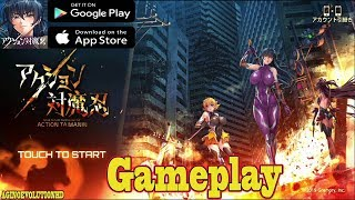 Action Taimanin - ARPG Official Launch Walkthrough Gameplay (AndroidIOS)