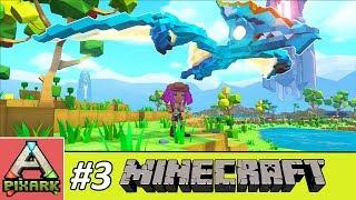 PIXARK - Minecraft Ark #3 - Taming Pteranodon - Thuần Hóa Thằn Lằn Bay Thời Khủng Long