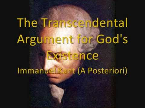 immanuel kant existence of god