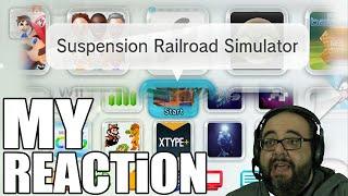 SUSPENSION RAILROAD SIMULATOR - Reaction