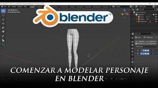 Modelado de Personaje en Blender  Parte 1