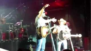 Jason Aldean - We Rode In Trucks with Luke Bryan in Atlanta, GA 5/18/12