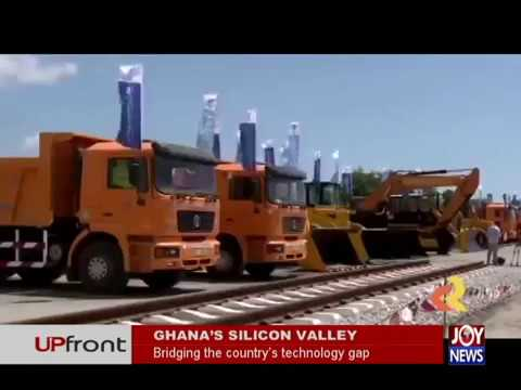 Ghana's Silicon Valley - UPfront on JoyNews (18-4-18)