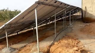تشغيل مضخة ماء غاطس 22 كيلوواط عن طريق الطاقة الشمسية بأستخدام هيتاشي انفيرتر