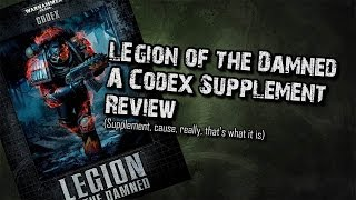 Legion of the Damned Codex (Supplement) Review