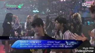 170222 nct x gfriend moments 6th gaon chart music awards 2017