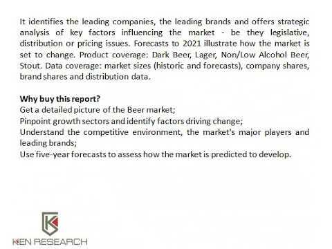 Sweden Beer Market Forecast, Sweden Beer Market Size - Ken Research