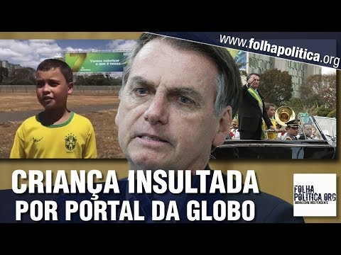 Bolsonaro publica vídeo de garoto chamado de &39;imbecil&39; por portal da Globo