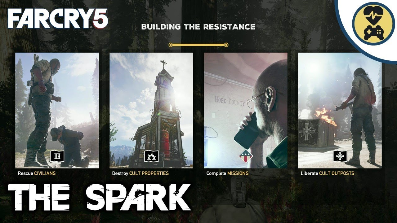 the spark achievement trophy guide far cry 5 youtube rh youtube com Uncharted 2 Trophy Guide Dead Space 3 Trophy Guide