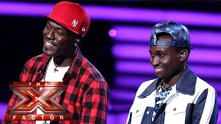 Download Video Reggie 'N' Bollie let the dogs out! | Live Week 3 | The X Factor 2015 MP3 3GP MP4