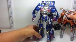 transformers aoe ad 31 armor knight optimus prime video review en espaol