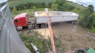 A Long Day of Loading Trucks