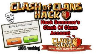 HOW TO HACK CLASH OF CLANS 2017 (100% WORKING)