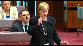 Christine Milne: Condolence statement - Harry Evans
