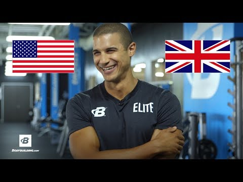 British Fitness Model Tries American Accents | Lee Constantinou