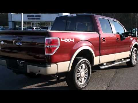 used 2009 ford f 150 king ranch navigation supercrew for saletallahassee florida youtube. Black Bedroom Furniture Sets. Home Design Ideas