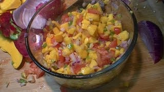 How To Make Spicy Mango Salsa Easy Delicious